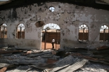George Janvier Burned Church