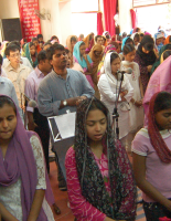 Worship service for Philip in Asia
