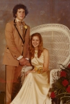 Jeff and Jill at Junior Prom, 1977