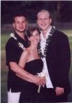 Joey, Katie and Dan, 2005