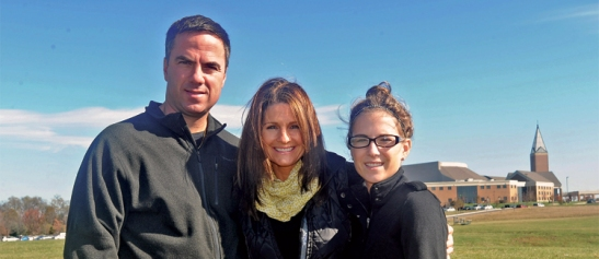 Bruce, Donalyn and Lindsay Bruzzini revisiting Coyote Crossing