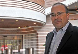 Manny Favela at McDonald's headquarters, where he serves as Chief Financial Officer, McDonald's Latin America