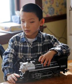 Isaac, age 8