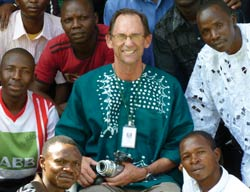 WBC missionary George Janvier, seminary professor in Jos, Nigeria, equips students for full-time ministry and church planting in Nigeria and beyond.