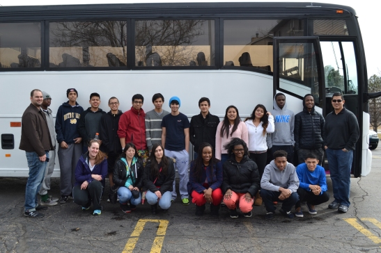 For many of these students, the college tour was the first time they traveled away from their families.