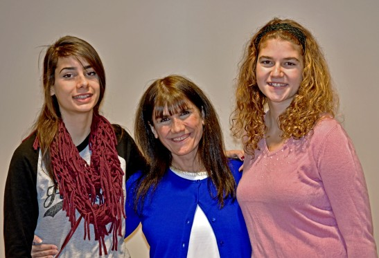 wbc-Rima with two of her daughters ar church-1025-15-1